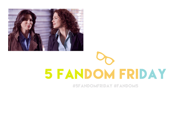 5 Fandom Friday - Womances