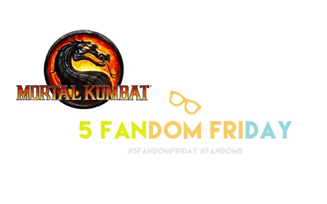 5 Fandom Friday - Guilty pleasures