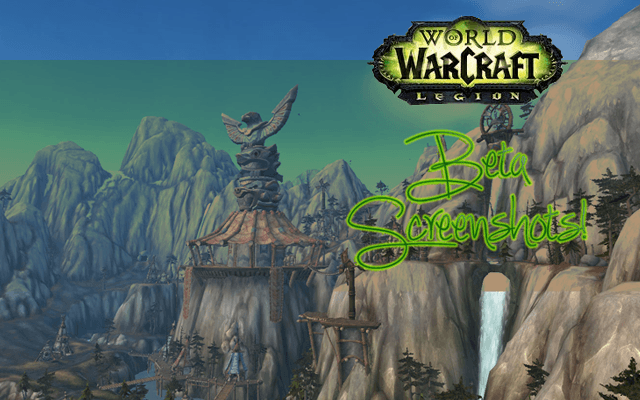 World of Warcraft: Legion Beta Screenshots
