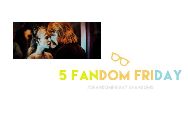 5 Fandom Friday - Favourite Harry Potter relationships