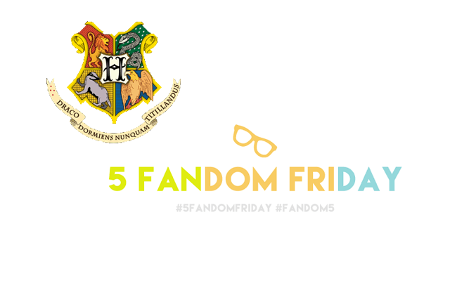 5 Fandom Friday - If I lived in the Harry Potter universe