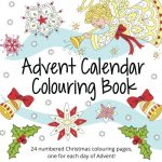 Advent Calendar Colouring Book