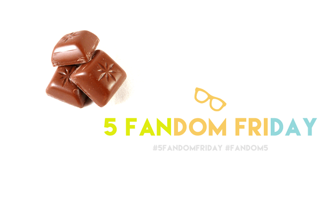 5 Fandom Friday - Comfort foods