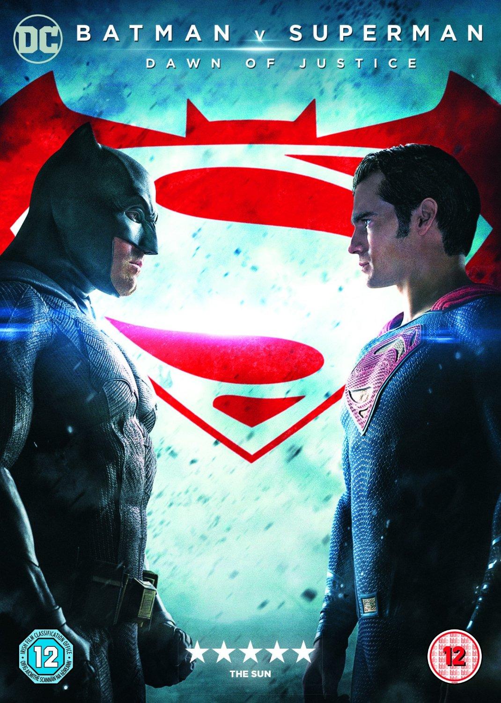 batman vs superman dvd