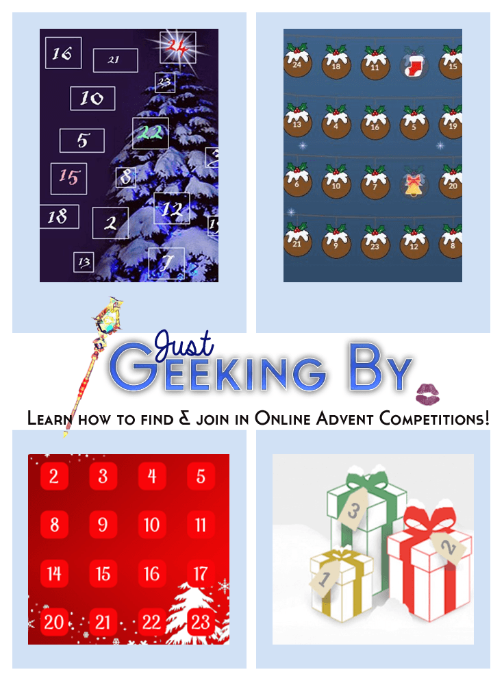 Pin this! - Check out my guide to having fun this December with online advent competitions and win some great gifts for yourself and your family!