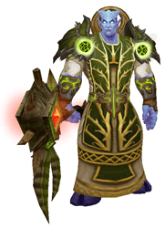 Fel Moonlight transmog -front view