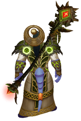Fel Moonlight transmog - back view sheathed