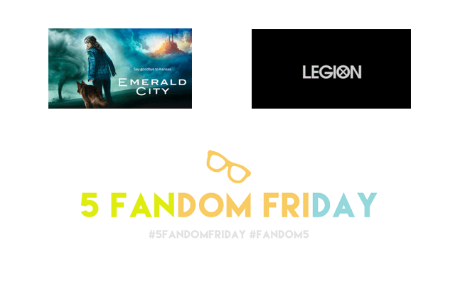 5 Fandom Friday - 2017 Tv shows