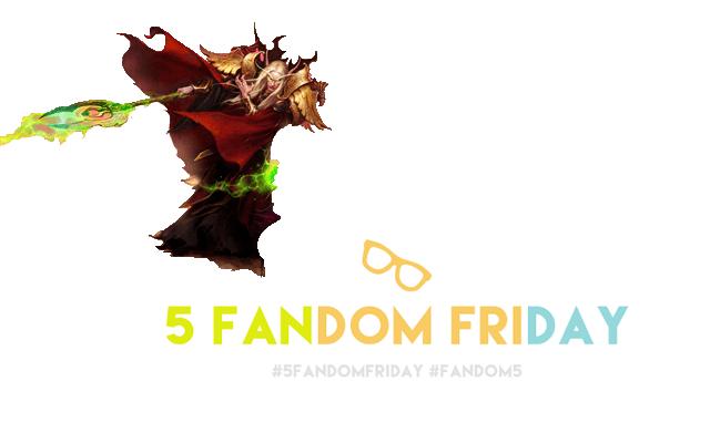 5 Fandom Friday - Geeky Expressions