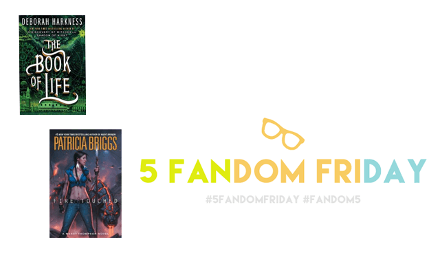 5 Fandom Friday - My TBR pile