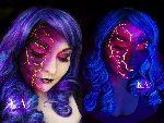 Black Light Lightning by Katie Alves
