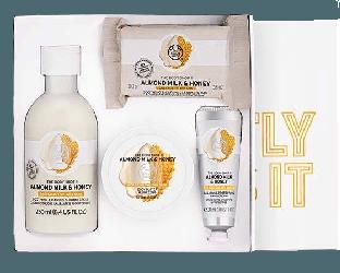 Body Shop - Almond Milk & Honey