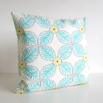 windmill aqua cushion cover