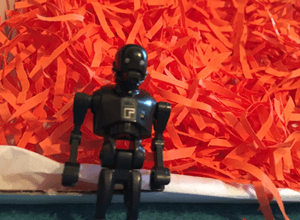 Star Wars: Rogue One K-2SO minifigure