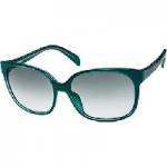 Green Oversized Square Sunglasses