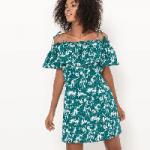 Short Floral Dres