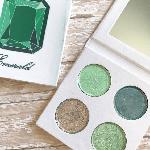 Pressed eyeshadow palette – May Birthstone – Emerald