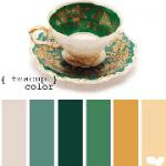 Colour Palette - Teacup Colours