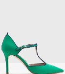 Boden Green Angelica T-Bar Heel