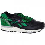 Reebok Black & Green LX8500 Trainers