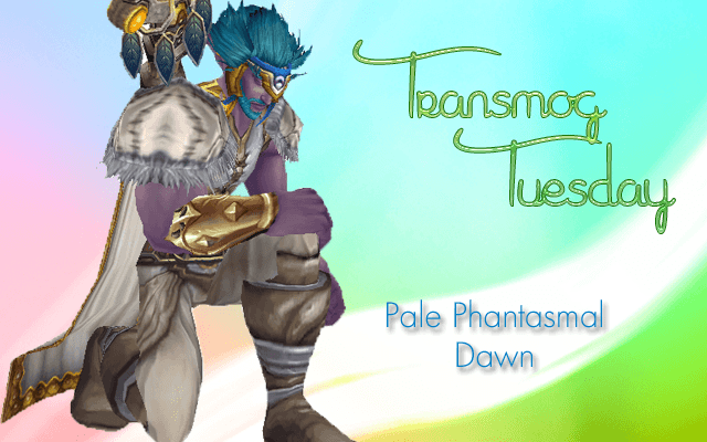 #TransmogTuesday White Leather Transmog Set