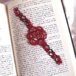 Gothic Rose Bookmark