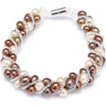 Honora Cultured Pearl Bracelet Stainless Steel
