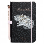 Ted Baker Pearls of Wisdom Womens Mini Notebook & Pen