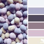 Easter Treasures colour palette