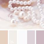 Pearls colour palette