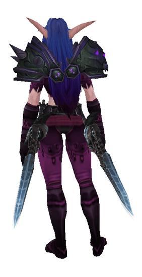 Purple Death - Back View