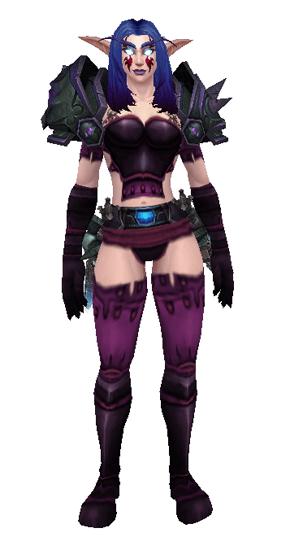 Purple Death - Front View