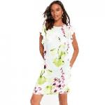 Wallis – Mint floral orchid shift dress