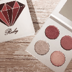 Pressed eyeshadow palette – July birthstone – Ruby