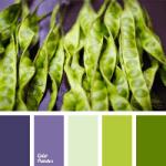 Green Peas Colour Palette