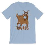 Taurus Kitty Cat Zodiac Shirt