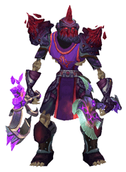 Dragon's Apocalypse Transmog Set - Front View