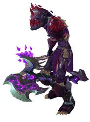 Dragon's Apocalypse Transmog Set - Side View