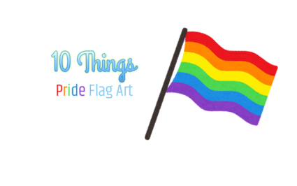 10 Things - Amazing Pieces of Pride Flag Art