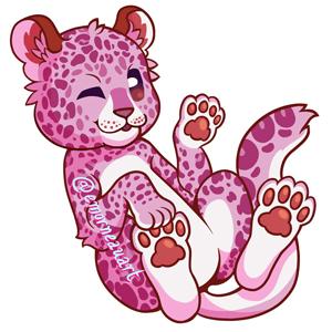 Lesbian Pride Leopard by emorneauart