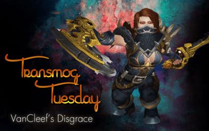 #TransmogTuesday - VanCleef's Disgrace Transmog Set
