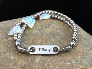 Flutter ID Bracelet from Butler & Grace