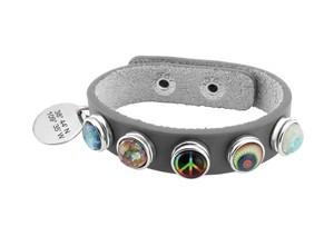 Idol Longitude Latitude Bracelet from Butler & Grace