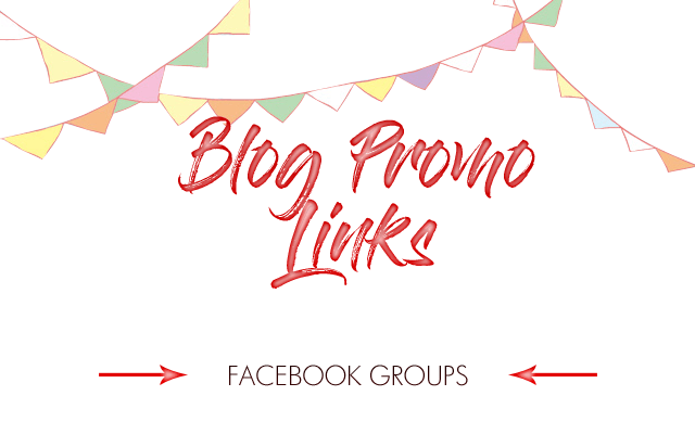 Blog Promo Links - Facebook Groups