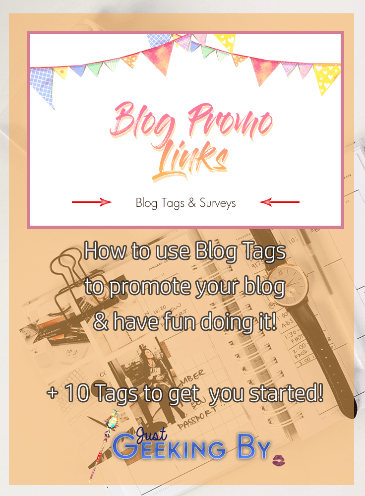 Pin This! - This month I'm introducing you to Blog Tags and showing you how to promote your blog while creating new content. But more importantly - having fun doing it!