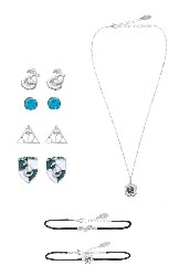 Harry Potter Slytherin House Jewellery Set from Primark