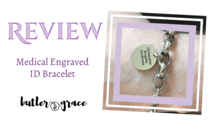 Product Review - Engraved Medical Alert Bracelet from Butler & Grace