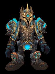 Stormlord, Bringer of Destruction Transmog Set - Front View Sheathed