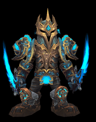 Stormlord, Bringer of Destruction Transmog Set - Back View