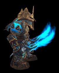 Stormlord, Bringer of Destruction Transmog Set - Side View